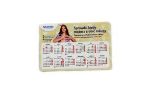 kalendarz magnetyczny magnes gadżet reklamowy