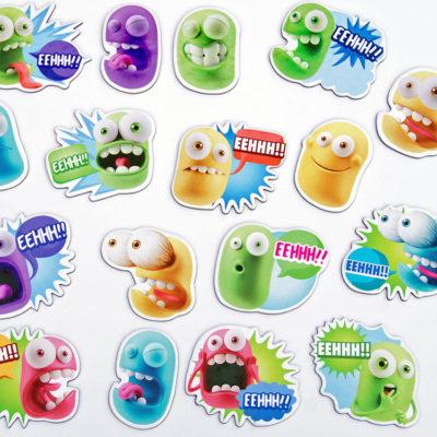 magnesy na lodówkę gniewoszki to super pomysł na stworzenie tablicy motywacyjnej dla dziecka