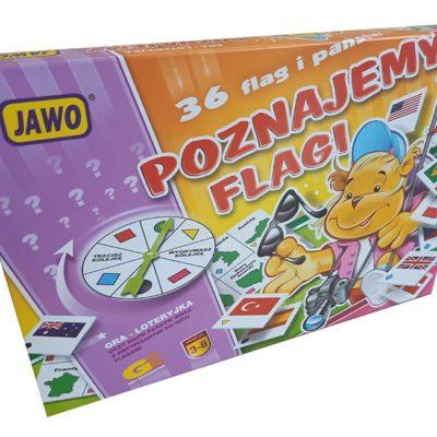 Gra poznaje flagi gra edukacyjna