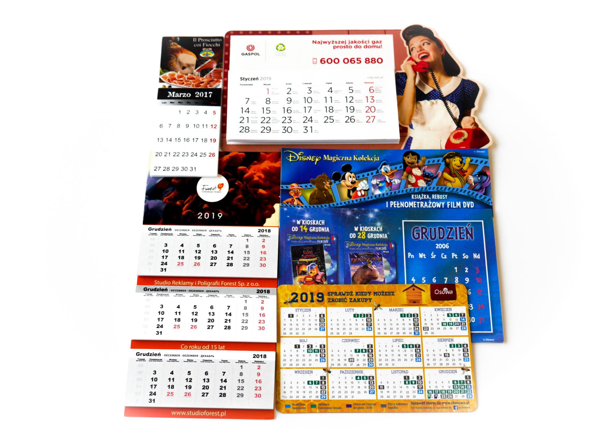kalendarze magnetyczne producent