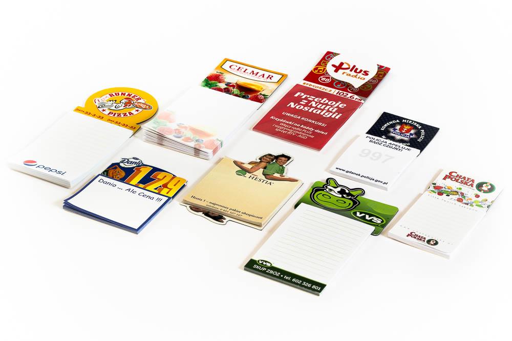 notesy reklmaowe, notesy magnetyczne, notesy na lodówkę, notesy z magnesem