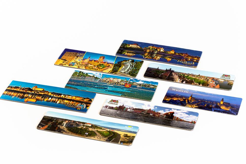 magnesy na lodówkę, magnesy pamiątkowe, pocztówki magnetyczne, magnesy z wakacji