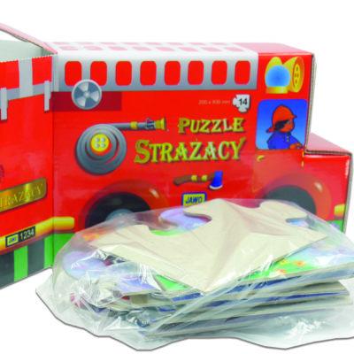 Puzzle strażacy układanka dydaktyczna